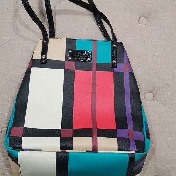 Kate Spade Perry Street Plaid Michelle Tote